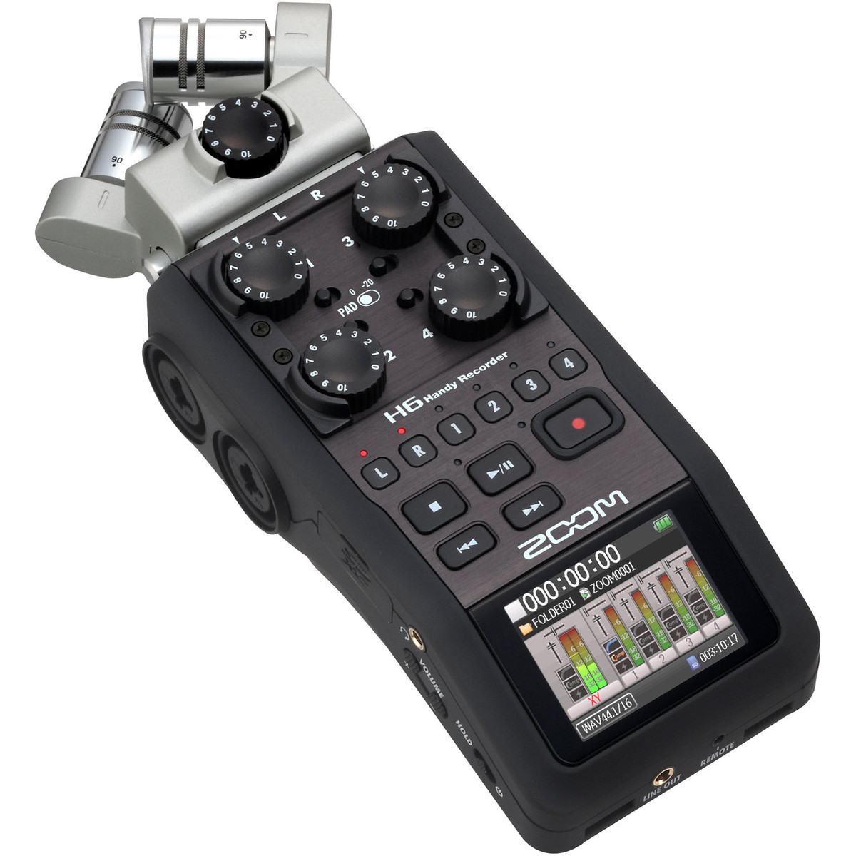 H6 AUDIO RECORDER