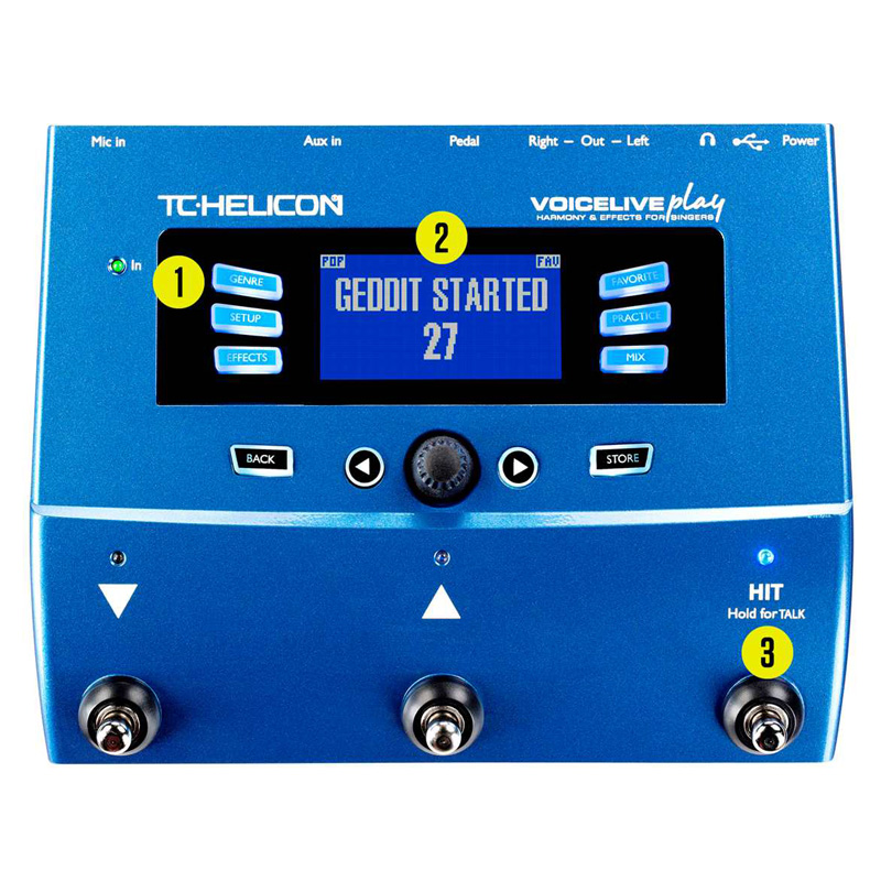 Buy Tc Helicon Voicelive Play Voice Fx Processor Or Check