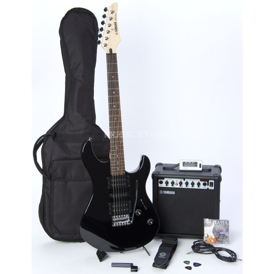 buy yamaha egr121 gigmaker electric guitar package black or check online price in india. Black Bedroom Furniture Sets. Home Design Ideas
