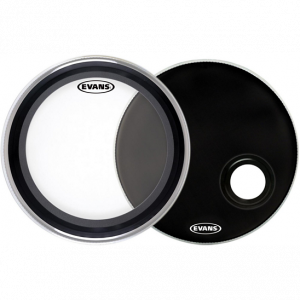 EVANS 22INCH EMAD BASS DRUMHEAD PACK