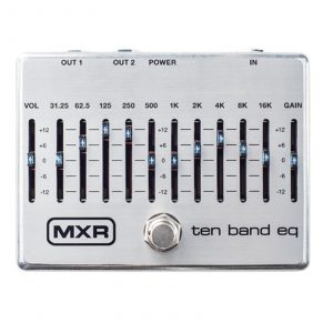 Dunlop MXR M108S 10-Band Graphic EQ Pedal