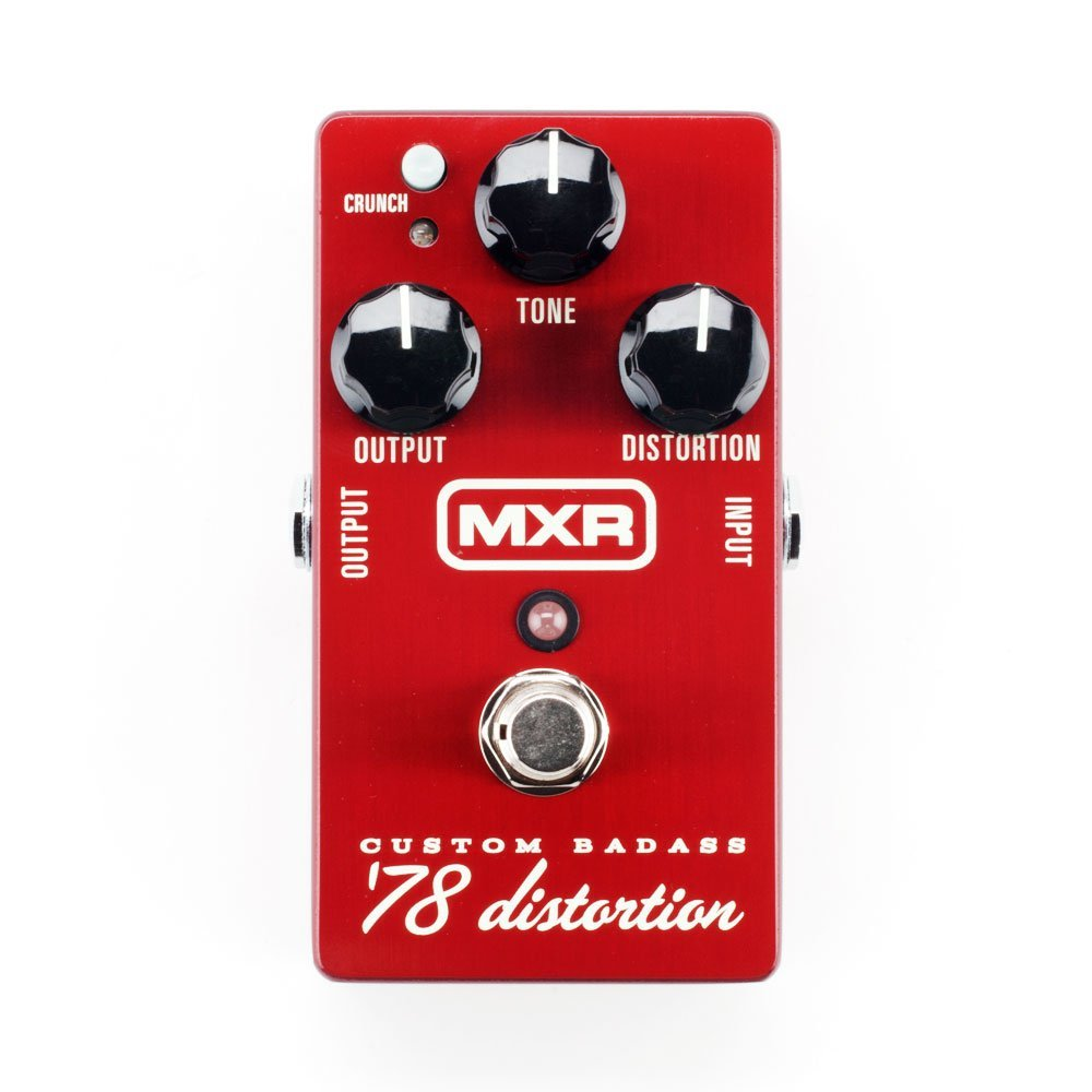 Dunlop MXR M78 Custom Badass '78 Distortion Pedal 1