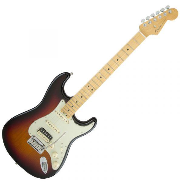 Fender American Elite Stratocaster HSS Shawbucker - Maple, 3 Color Sunburst
