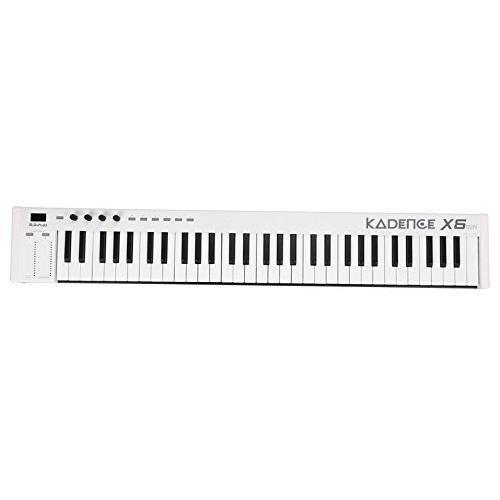 Kadence Midiplus X6, 61-Key MIDI Keyboard Controller