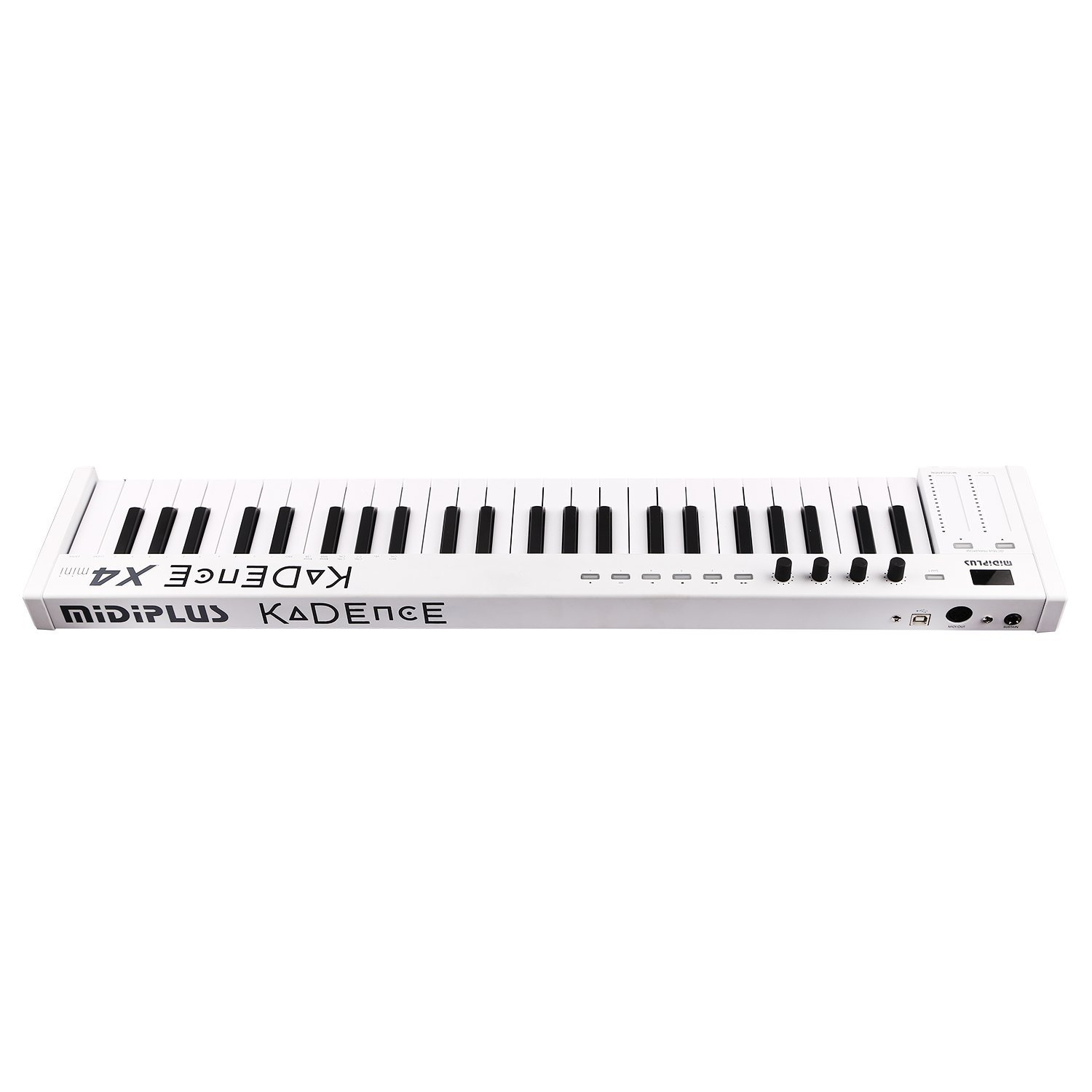 buy kadence midiplus x4 49key midi keyboard controller or check online price in india euphonycart. Black Bedroom Furniture Sets. Home Design Ideas