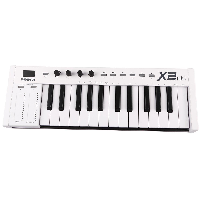 Kadence Midiplus X2, 25-Key MIDI Keyboard Controller