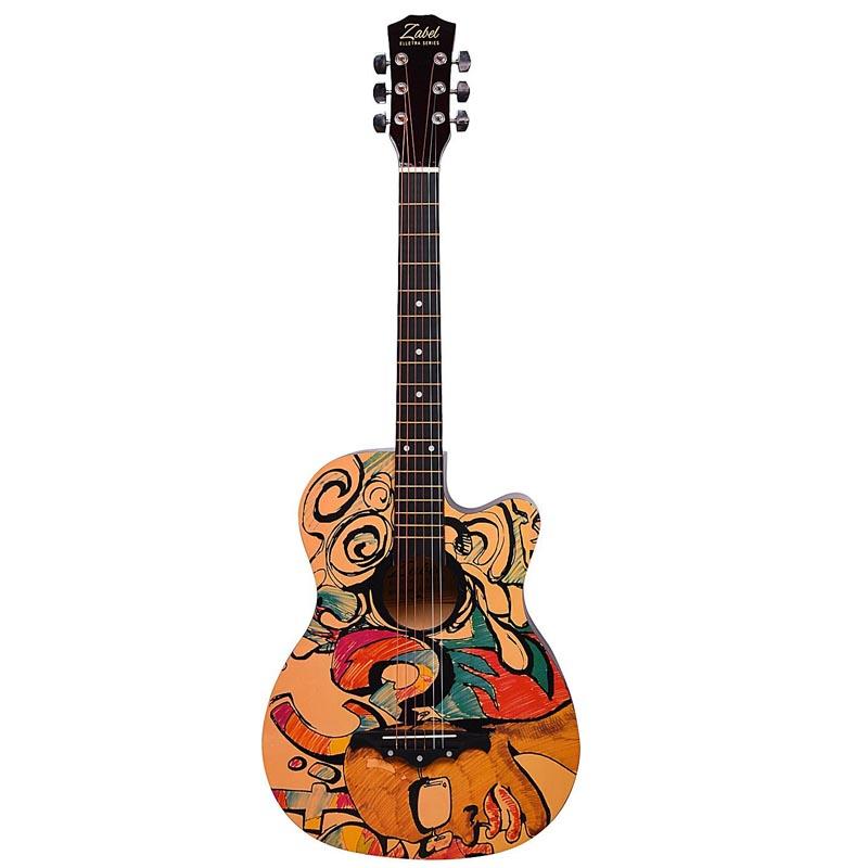 Kadence Zabel ZBTR09 Acoustic Guitar