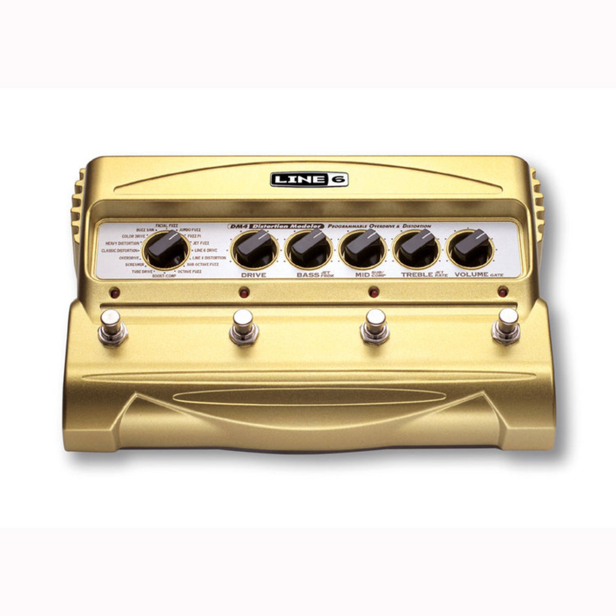 Line 6 DM4 Distortion Stompbox Modeling Pedal 1