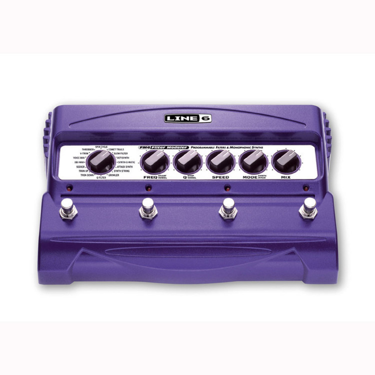 Line 6 FM4 Stompbox Modeler Filter Effects Pedal 1
