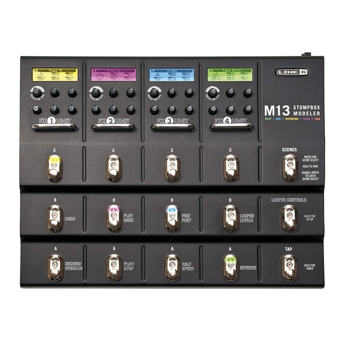 Line 6 M13 Stompbox Modeler Multi Effects Pedal 1