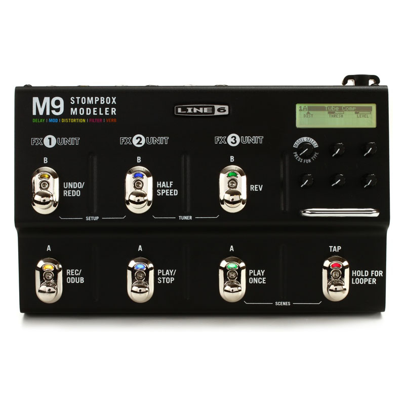 Line 6 M9 Stompbox Modeler Guitar Multi-Effects Pedal 1