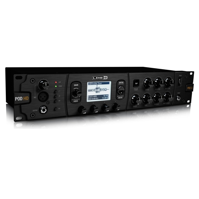 Line 6 POD HD Pro X Multi-Effects Rack Mounted Processor 1