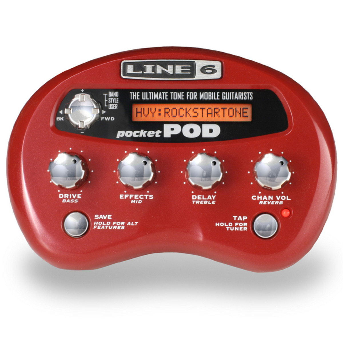 Line 6 Pocket POD Guitar Multi-Effects Processor 1