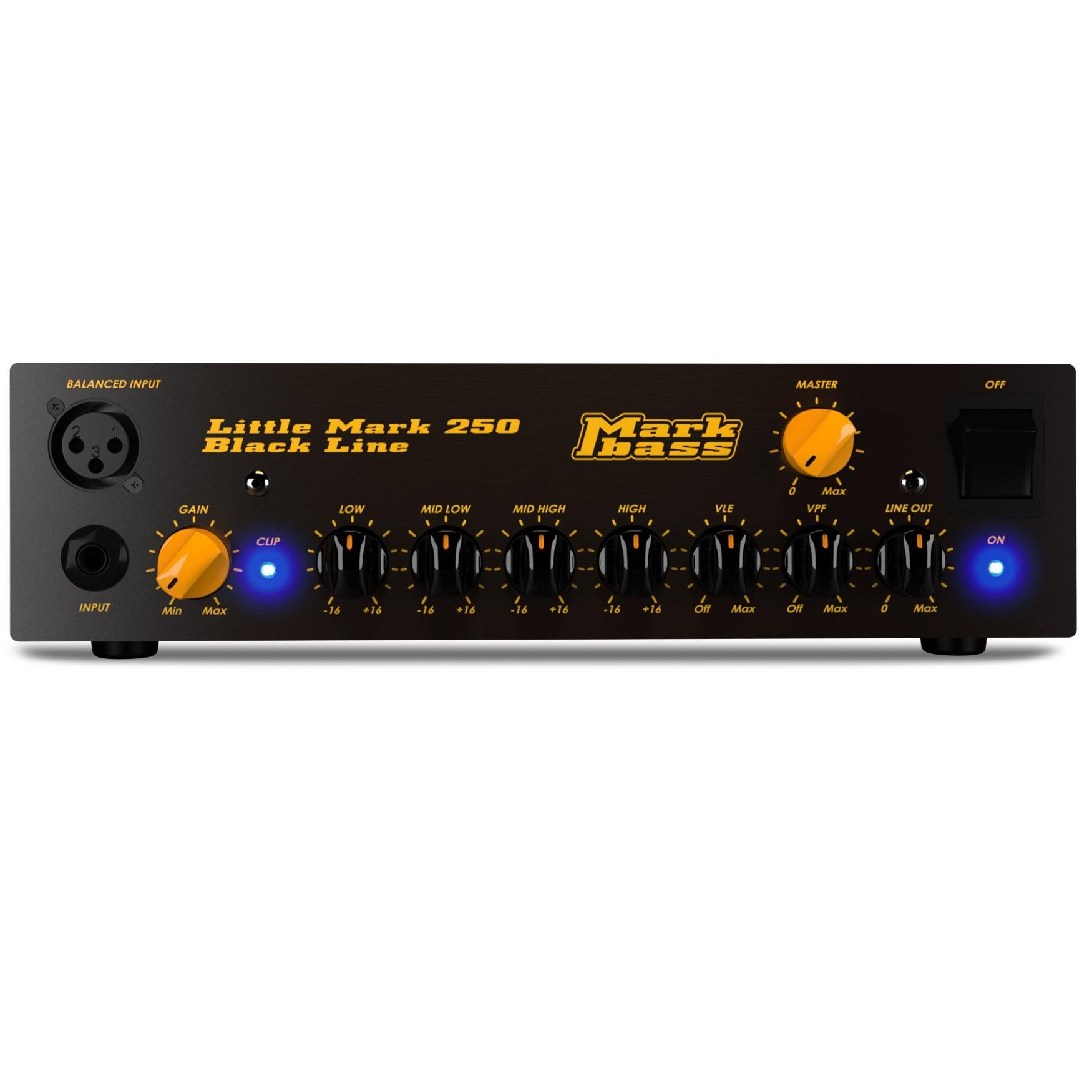 Markbass Little Mark 250 Black Line Bass Amp Head 1