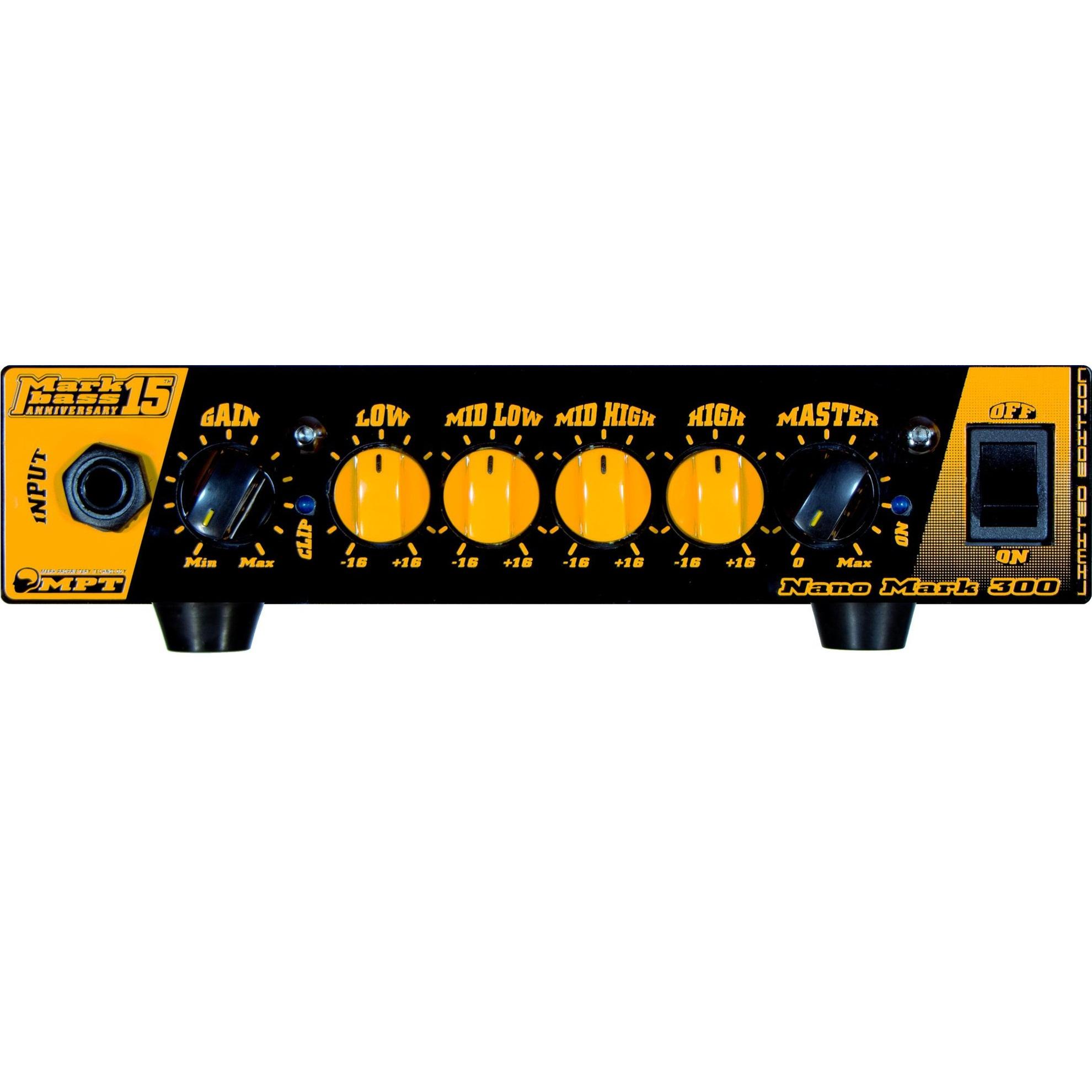 Markbass Nano Mark 300 15Th Anniversary Bass Amp Head 1