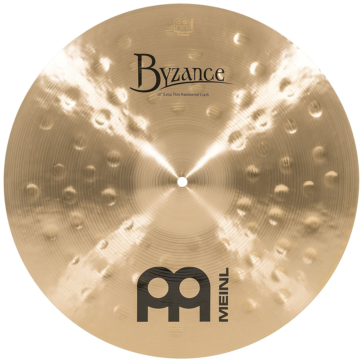 Meinl B18ETHC Extra Thin Hammered Crash