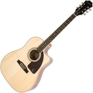 Epiphone AJ 220SCE Semi Acoustic Guitar