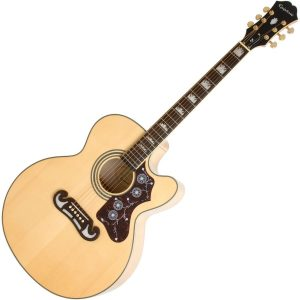 Epiphone EJ 200CE Semi Acoustic Guitar Natural