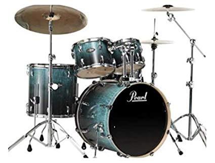 Pearl Drum Set 5 Pcs Export Artisan II EXA Shell Pack Emerald Fade Eucalyptus EXA725SPC 485