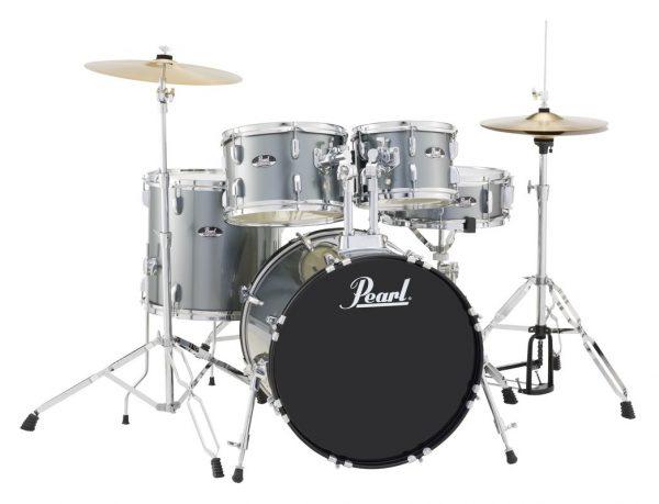 Pearl Drum Charcoal metallic
